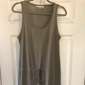 Comfy drawstring waist dress